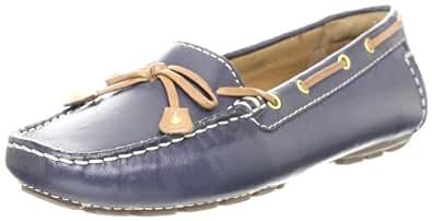 Clarks  Dunbar Racer, Chaussures bateau pour femme bleu 37
