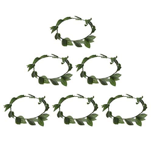 cke Frauen Griechisch Römische Göttin Blätter Lorbeerkranz Stirnband Phantasie Haarbänder ()