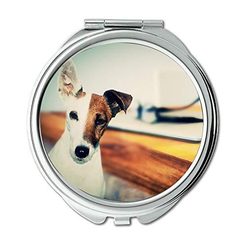Yanteng Spiegel, Compact Spiegel, Hund Katze Tiere Tier Haustier, Taschenspiegel, Tragbare Spiegel