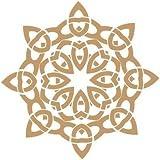 Stencil Deco Figura y Vintage 031 Mandala 2. Medidas aproximadas:Tamaño de la Stencil 20 x 20(cm) Tamaño de la figura 18 x 18(cm)