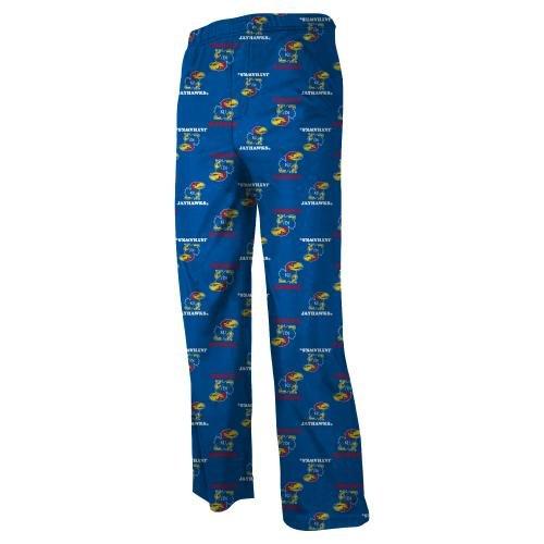 Kansas Jayhawks Youth NCAA Printed Logo Pajama Pants