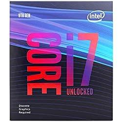 Intel Core i7-9700Kf Processeur 3, 6 GHz Boîte 12 Mo Smart Cache - Processeurs Core i7 de 9E Génération, 3, 6 GHz, LGA 1151 (Emplacement H4), PC, 14 nm, i7-9700Kf
