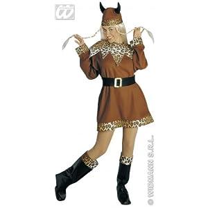 WIDMANN Kostüm-Set Wikinger-Lady, GröÃ?e XL