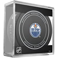 Edmonton Oilers NHL Official Game Puck