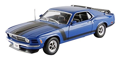 welly-18002bl-ford-mustang-boss-302-1970-echelle-1-18-bleu
