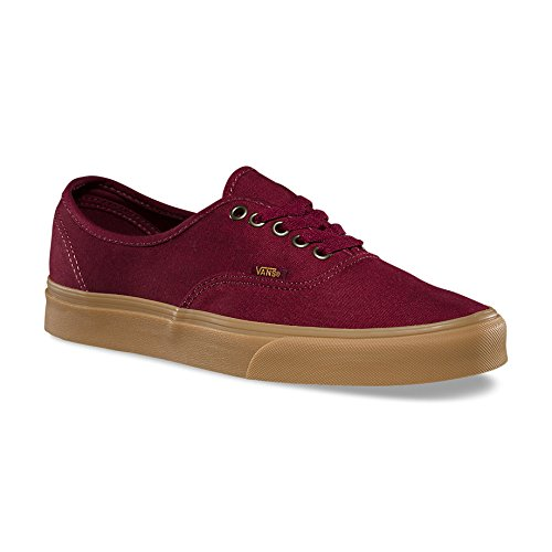 Vans U Authentic Rainbow, Baskets mode mixte adulte Rouge