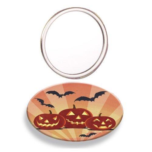 Citrouilles Halloween Miroir de poche - Mad Beauty