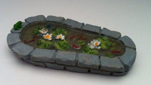 Miniatur Im Maßstab 1 / 12. Fairy Gartenteich Blumentopf Ornament Fairy Garden Zubehör)