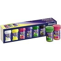 Pelikan - Témpera escolar, set 6 colores básicos, 6 x 20ml