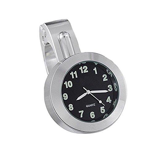 Preisvergleich Produktbild Universal Alu Motorraduhr Uhren Motorrad Motorräder Lenker Uhr Lenkeruhr Ziffernblatt