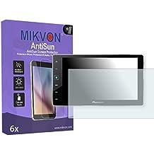 6x Mikvon AntiSun Película protección de pantalla Pioneer SPH-DA120 (AppRadio 4) Protector de Pantalla - Embalaje y accesorios