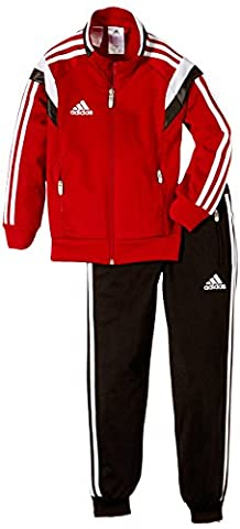 Adidas Children's Tracksuit Condivo14 Red University Red/White/Black X-Large Youth (Manufaturer Size:164)