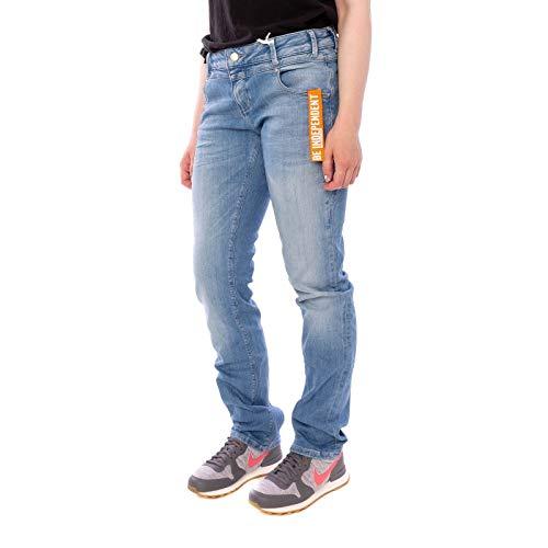 M.O.D Miracle of Denim Damen Jeans REA Regular FIT SP19-2012 Cairo Blue, Hosengröße:32/32 -