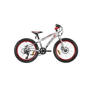 "41bcPBAraWL. SS300 Atala Bici Bambino Snowball 20"" 6V Ultralight/NeonRedMatt"