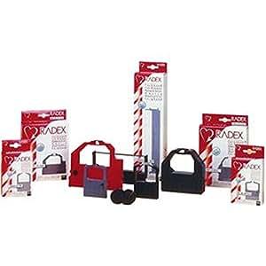 Kores 2249762 Ruban de haute qualité en nylon compatible avec Imprimante Casio 12,7 mm x 12 m Violet