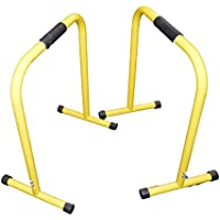 Fitness parallette barras (par) paralelo Crossfit, Calistenia, peso corporal, barras
