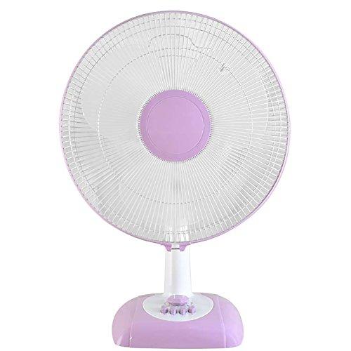 hnheim Schüttelkopf Fan, großer Boden Fan Sound Small Wind Big (Farbe : Purple) ()