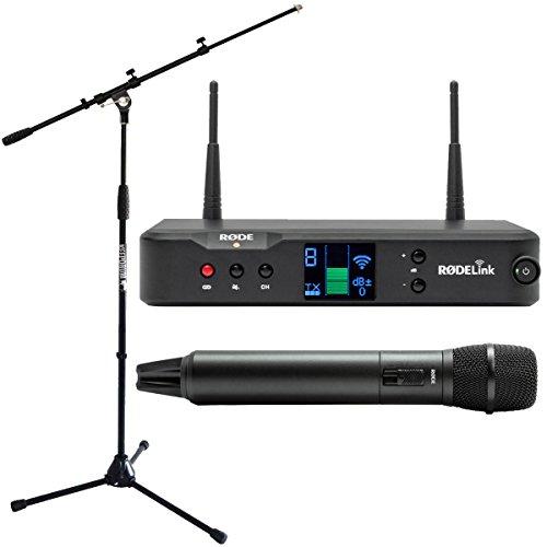 Rode rodelink Performer Kit inalámbrico Sistema de micrófono inalámbrico + soporte para micrófono Keepdrum