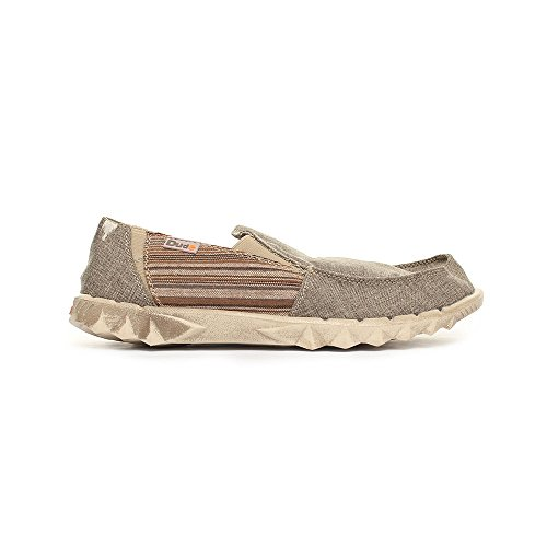 Schlupfschuhe Stripe Hey Dude Dude Hey Brown 2 Farty Inca Ypfd8q