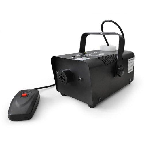 Beamz S500 nebbia macchina del fumo nebbia smoke maker professionale (500 Watt, 42,5m³/min, liquido incluso, telecomando)