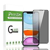 PaceBid Protezione Schermo Privacy Compatibile con iPhone 11 PRO, Face ID Completamente Pellicola Anti-Spy di Protezione, [Senza Bolle] [Anti-graffio] per iPhone 11 PRO
