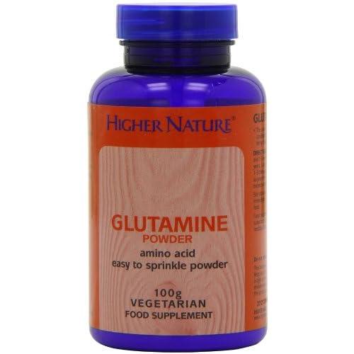 Higher Nature Glutamine Powder – 100g
