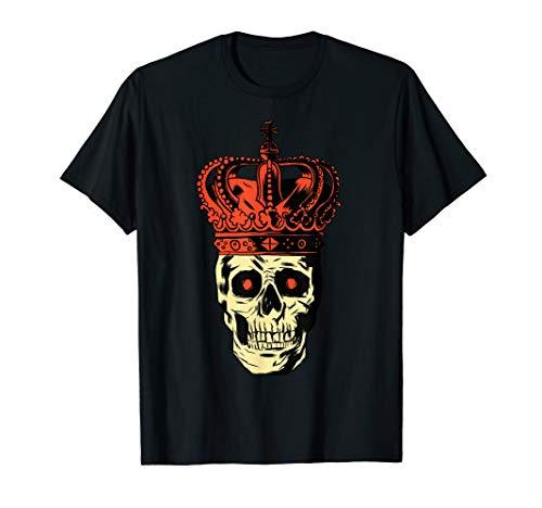 Ungarn Kostüm - Totenkopf König Kaiser Geschenk zur Halloween Themenparty  T-Shirt
