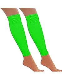 61d1f2e06c04b Neon Leg Warmers Dance Party 80s - Retro Fancy Dress Accessory