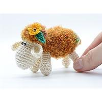 Gefüllte Schafe Spielzeug, Osterdekoration Geschenk, einzigartiges Spielzeug für sie