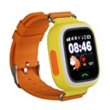 Elepaio New Q90 GPS Phone Positioning Color Touch Screen Kids SmartWatch