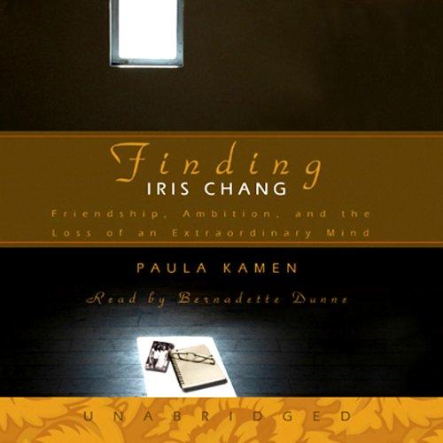 Finding Iris Chang  Audiolibri