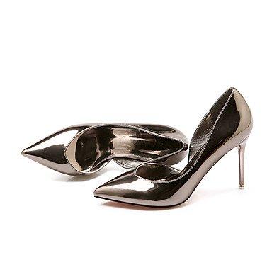 Moda Donna Sandali Sexy donna tacchi Primavera / Estate / Autunno tacchi / Punta / punta chiusa Casual Stiletto Heel Altri dark gray