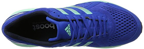 adidas Herren Adizero Tempo 8 Laufschuhe Blau (Blue/night Navy/easy Green)