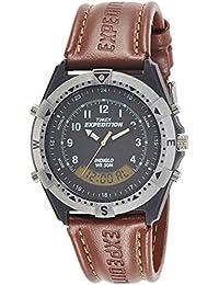 Timex Analog-Digital Black Dial Men's Watch-TW00MF102