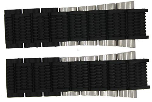 Festina Tourchrono 2014 - Marken Ersatzband aus Kautschuk/Edelstahl schwarz/silberfarben F16775