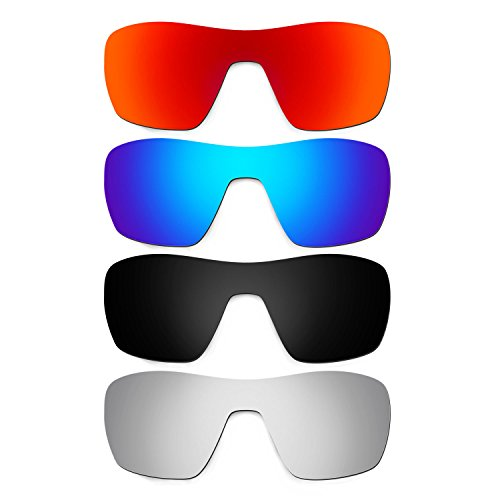 4a5ff9f0be26a Hkuco Plus Mens Replacement Lenses For Oakley Offshoot - 4 pair Combo Pack