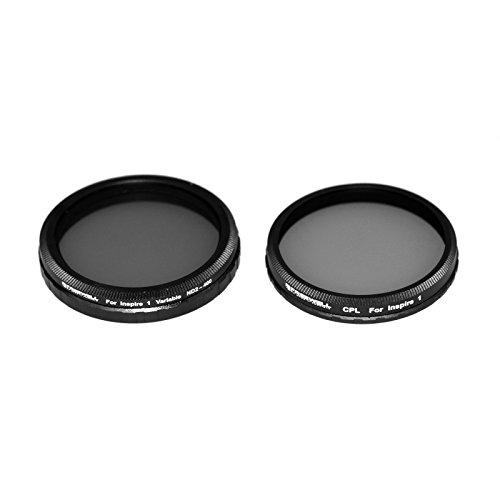 Freewell ND2-400, filtro polarizzatore circolare CPL Compatibile con l'obiettivo della fotocamera DJI Inspire Zenmuse X3 / Z3 / Osmo/Osmo +