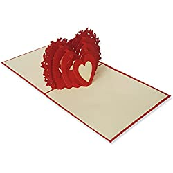Tarjetas Originales de San Valentín 3D