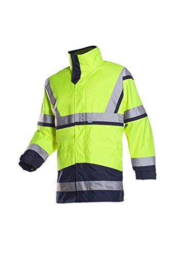 color amarillo y azul marino SIOEN 6147A2PM1278L Dalvik Hi-Vis Pantalones de almacenamiento fr/ío con tirantes talla grande