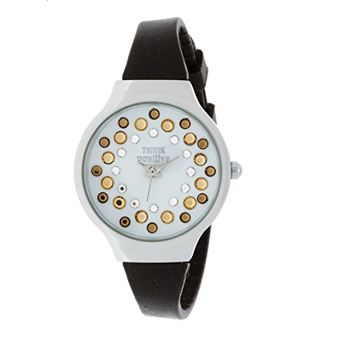ladies-think-positiver-model-se-w89-small-steel-strap-of-silicone-color-brown