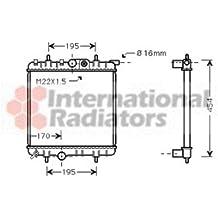 Van Wezel 40002243 radiador de refrigeración del motor