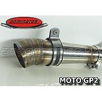 Yamaha R6 (1999 – 2002) Acero Inoxidable Sport Silenciador de rendimiento + ...