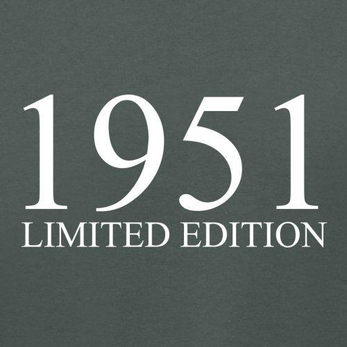 1951 Limierte Auflage / Limited Edition - 66. Geburtstag - Damen T-Shirt - 14 Farben Dunkelgrau