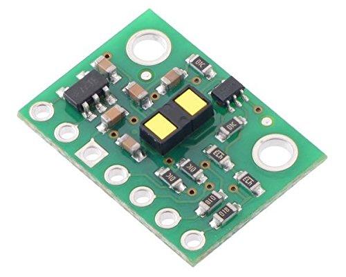 VL53L1X Time-of-Flight Distance Sensor Carrier with Voltage Regulator, 400cm Max (Laser Target Electronic)