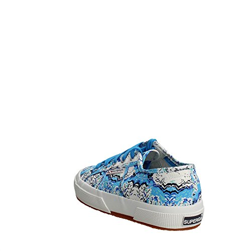Superga - 2750 Fantasy Cotu, Sneaker Donna FREEZE AZURE