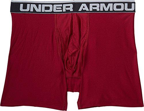 Under Armour Herren Sportswear Unterhose The Original 6 Zoll Boxerjock Black Currant/Carbon Heather