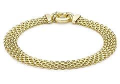 Idea Regalo - Carissima Gold Bracciale da Donna, Oro Giallo 9K (375)