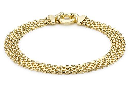 Carissima Gold Damen - Armband 375 Rundschliff einfach 1.20.8042