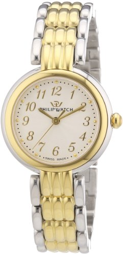 Philip-Ginevra-Womens-Quartz-Watch-with-Silver-Dial-Analogue-Display-and-Silver-Stainless-Steel-Strap-R8253491505