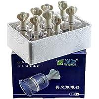 Schröpfen mit Magnet und Schneckensystem Gläser A-8 Schröpfgläser Vakuum Massage preisvergleich bei billige-tabletten.eu